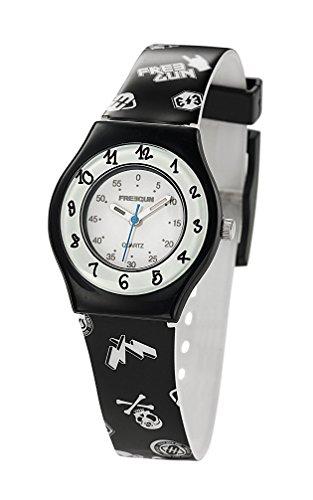 Freegun ee5189 Zeigt Jungen Quartz Armbanduhr EE5002 Analog Kunststoff mehrfarbig