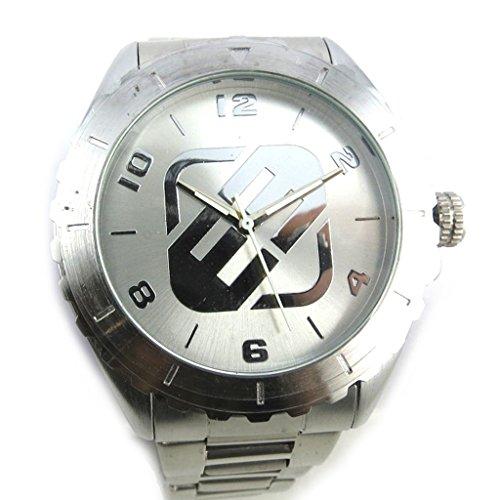 Armbanduhr french touch Freegunsilberfarben