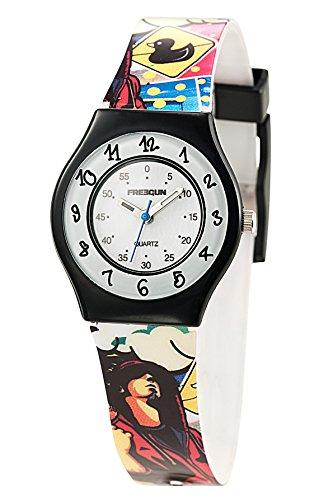 Freegun ee5174 Zeigt Jungen Quartz Armbanduhr EE5002 Analog Kunststoff mehrfarbig
