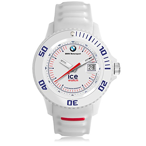 Ice Watch BMW Motorsport sili White Weisse mit Silikonarmband 000835 Medium