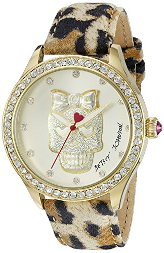 Betsey Johnson Damen bj00517 24 Armbanduhr Analog Display Mehrfarbig Quarz
