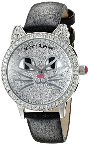 Betsey Johnson Damen bj00561 05 Analog Display Quartz Black Watch