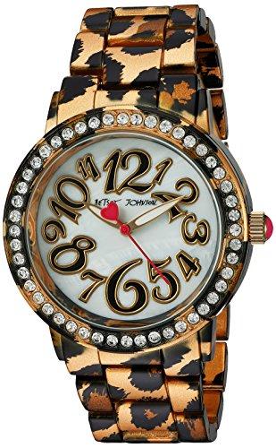 Betsey Johnson Damen Armbanduhr Quarz Metall und Legierung automatische Multi Farbe Modell bj00482 09