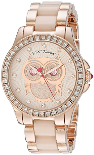 Betsey Johnson Damen bj00246 10 Analog Display Quarz Rose Gold Watch