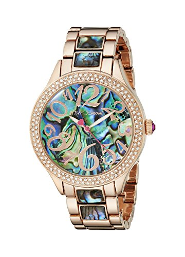 Betsey Johnson Damen bj00478 04 Analog Display Quarz Rose Gold Watch