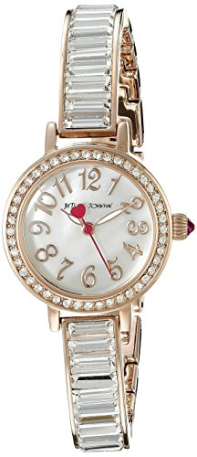 Betsey Johnson Damen bj00549 03 Analog Display Quarz Rose Gold Watch
