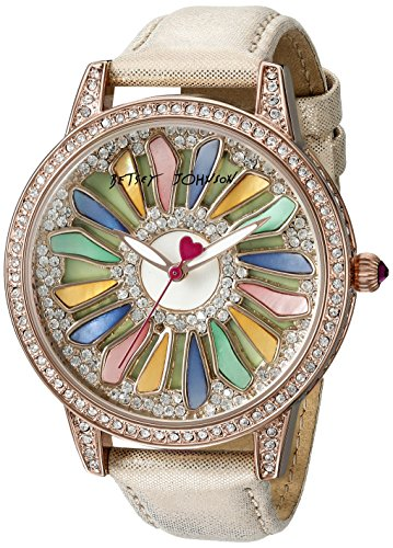 Betsey Johnson Damen bj00563 01 Analog Display Quarz Rose Gold Watch