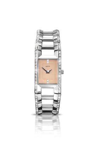 SEKSY Wrist Wear By SEKONDA Damen-Armbanduhr Analog Edelstahl silber 470937