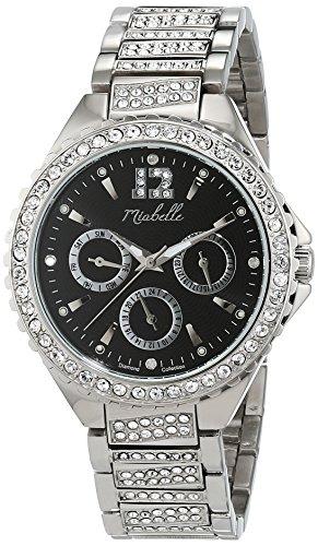 Miabelle Damen Armbanduhr Analog Quarz Edelstahl 16 010W B