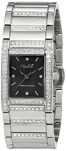 Miabelle Damen Armbanduhr Analog Quarz Edelstahl 16 013W B