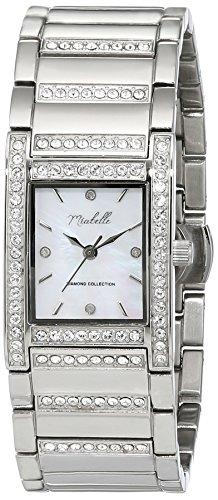 Miabelle Damen Armbanduhr Analog Quarz Edelstahl 16 013W C