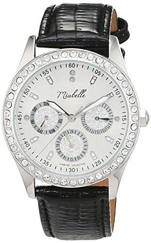 Miabelle Damen Armbanduhr Analog Quarz Leder 16 009W C