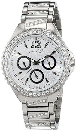 Miabelle Damen Armbanduhr Analog Quarz Leder 16 010W C