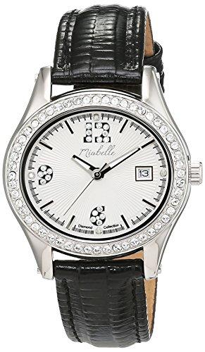 Miabelle Damen Armbanduhr Analog Quarz Leder 16 016W A