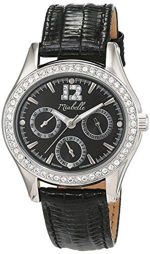 Miabelle Damen Armbanduhr Analog Quarz Leder 16 016W D