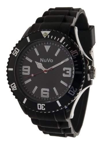 Nuvo Unisex-Armbanduhr Trend Analog Quarz Silikon NU13H01