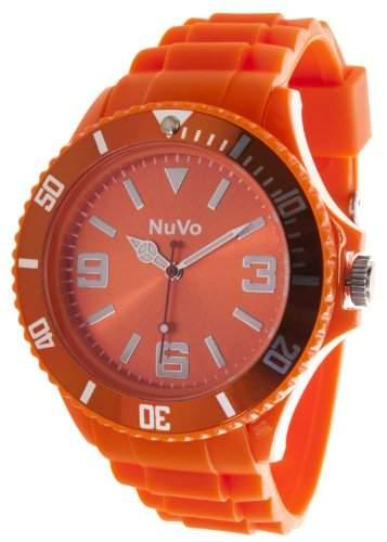 Nuvo Unisex-Armbanduhr Trend Analog Quarz Silikon NU13H03