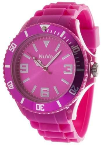 Nuvo Unisex-Armbanduhr Trend Analog Quarz Silikon NU13H04