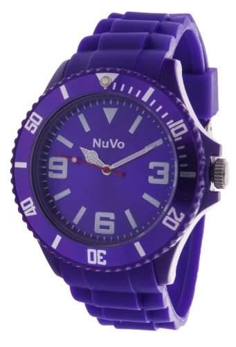 Nuvo Unisex-Armbanduhr Trend Analog Quarz Silikon NU13H05