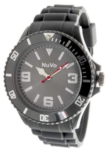 Nuvo Unisex-Armbanduhr Trend Analog Quarz Silikon NU13H06