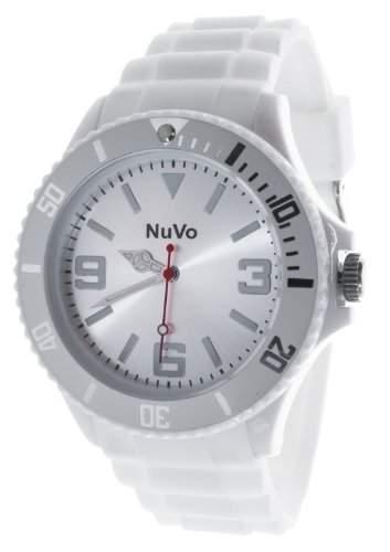 Nuvo Unisex-Armbanduhr Trend Analog Quarz Silikon NU13H07