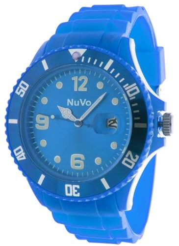 Nuvo Unisex-Armbanduhr Trend Analog Quarz Silikon NU13H08