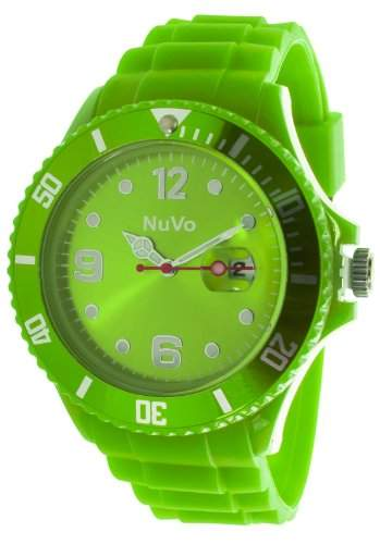 Nuvo Unisex-Armbanduhr Trend Analog Quarz Silikon NU13H11