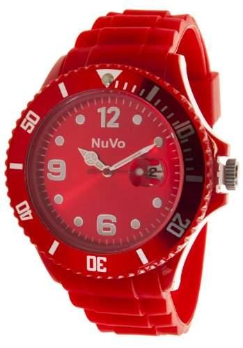 Nuvo Unisex-Armbanduhr Trend Analog Quarz Silikon NU13H12