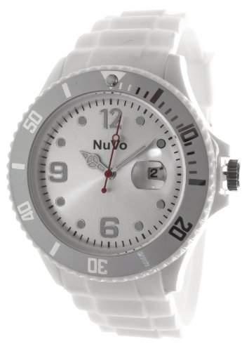 Nuvo Unisex-Armbanduhr Trend Analog Quarz Silikon NU13H13