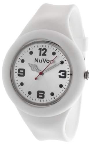 Nuvo Unisex-Armbanduhr Trend Analog Quarz Silikon NU13H14