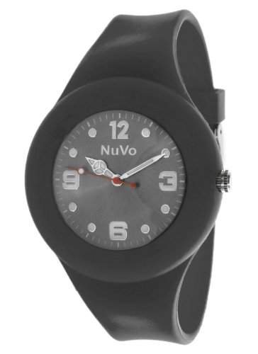 Nuvo Unisex-Armbanduhr Trend Analog Quarz Silikon NU13H16