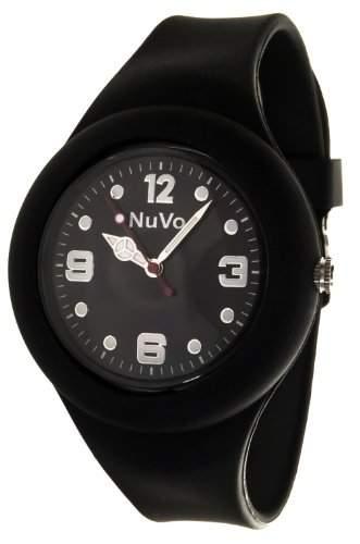 Nuvo Unisex-Armbanduhr Trend Analog Quarz Silikon NU13H19