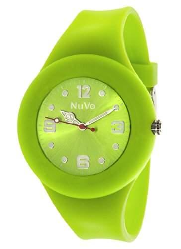 Nuvo Unisex-Armbanduhr Trend Analog Quarz Silikon NU13H20