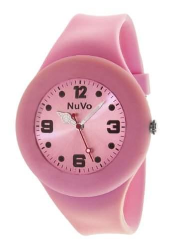 Nuvo Unisex-Armbanduhr Trend Analog Quarz Silikon NU13H21