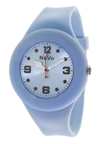 Nuvo Unisex-Armbanduhr Trend Analog Quarz Silikon NU13H22