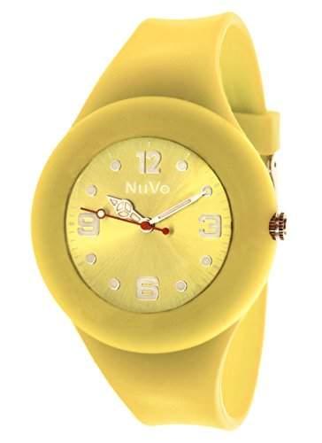 Nuvo Unisex-Armbanduhr Trend Analog Quarz Silikon NU13H23
