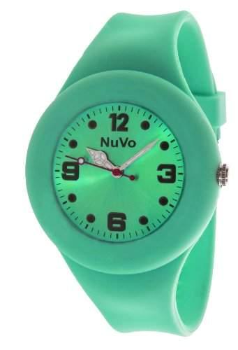 Nuvo Unisex-Armbanduhr Trend Analog Quarz Silikon NU13H24