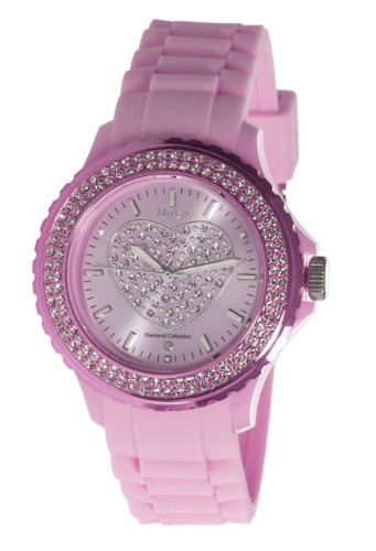 Nuvo XL Love Time Analog Quarz Silikon NU146
