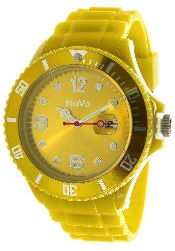 Nuvo Unisex Armbanduhr Trend Analog Quarz Silikon NU13H10