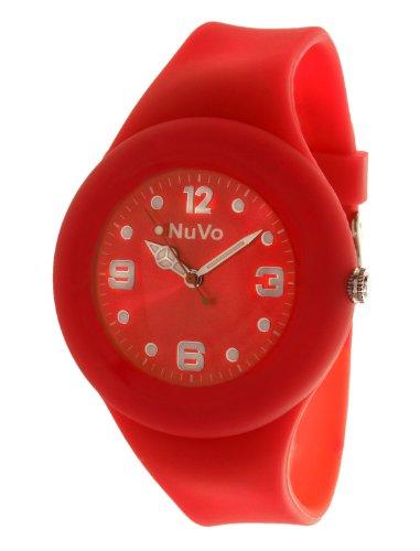 Nuvo Unisex Armbanduhr Trend Analog Quarz Silikon NU13H15
