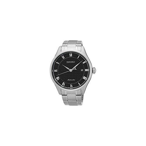 Uhr Seiko automatik srp769 K1 Schalter Stahl Quandrante schwarz Armband Stahl