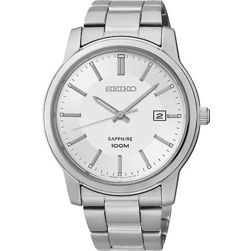 Uhr Seiko Neo Classic Sgeh01p1 Herren Silber
