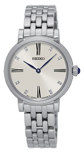 Seiko Damen Armbanduhr Analog Quarz Edelstahl SFQ817P1