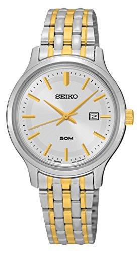 Seiko Damen Armbanduhr Analog Quarz Edelstahl SUR793P1