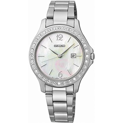 Seiko Damen Armbanduhr Analog edelstahl SXDF77P1