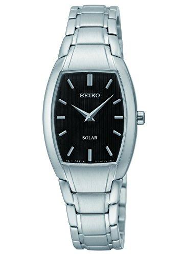 Seiko Damen sup259 Analog Display Armbanduhr Analog silber Quarz