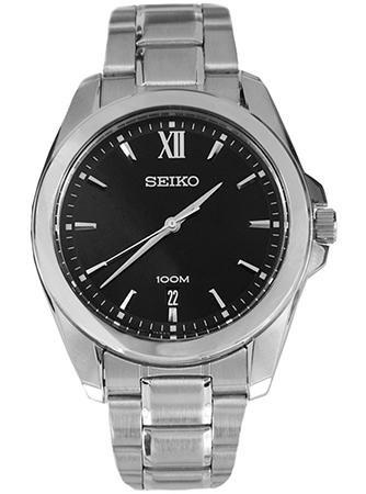 Seiko Herren Armbanduhr Analog Quarz Edelstahl SGEG61
