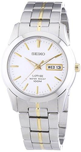 Seiko XL Analog Quarz Edelstahl SGG719P1