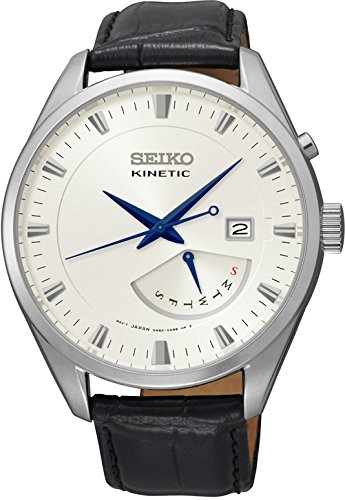 Seiko Herren Armbanduhr Analog Quarz Leder SRN071P1