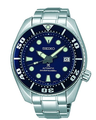 Seiko Herren Armbanduhr Prospex Analog Automatik Edelstahl SBDC033